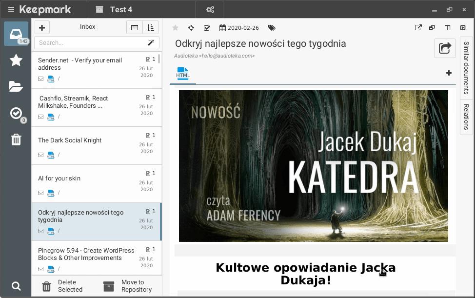 Keepmark 1.16.0